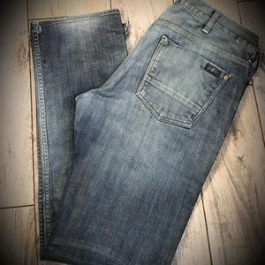 Seven For All Mankind mens jeans 38 x 32 straight